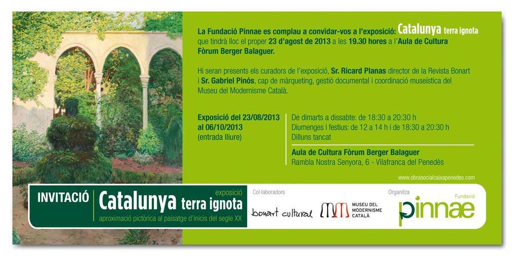 """La fundació Pinnae organitza """"Catalunya terra ignota"""", una exposició pictòrica amb les obres dels grans mestres del gènere paisatgístic de principis del segle XX"""