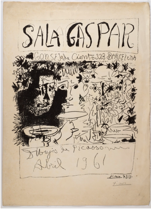 Cartells d'Artista , grans noms. Obra gràfica del Museu de Montserrat
