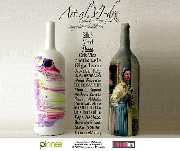 Exposición ART AL VI‐DRE, colectiva de artistas solidari