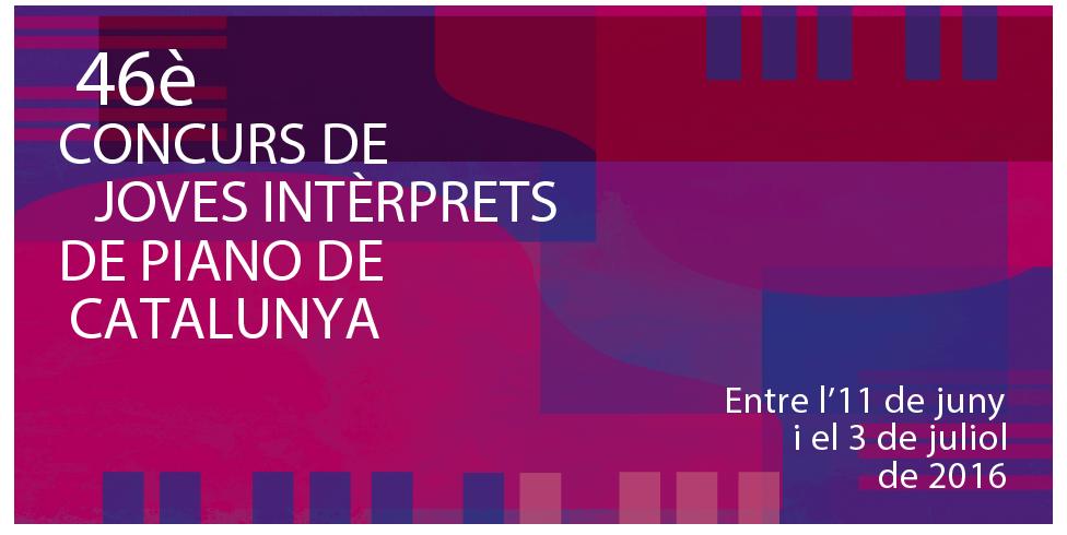 Vuelve la gran fiesta del piano con el 46º Concurso de Jóvenes Intérpretes de Piano de Catalunya.