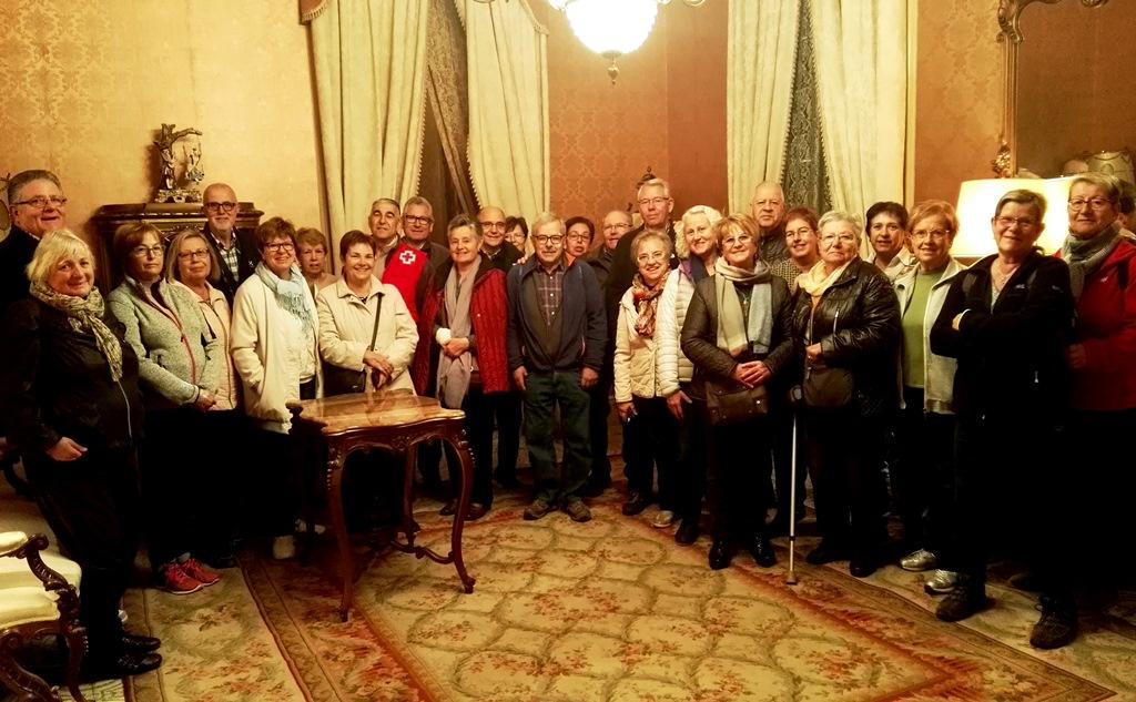 La Casa Museu Berger Balaguer rep una visita cultural de la Creu Roja de l'Alt Penedès