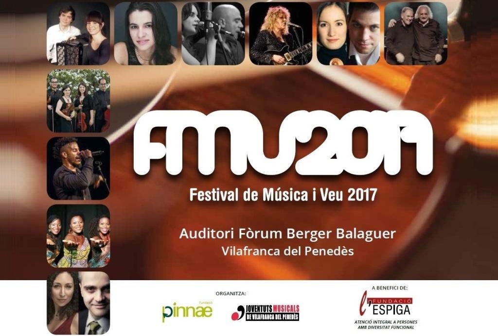 El III Festival de Música i Veu inicia aquest dimecres la venda d'entrades