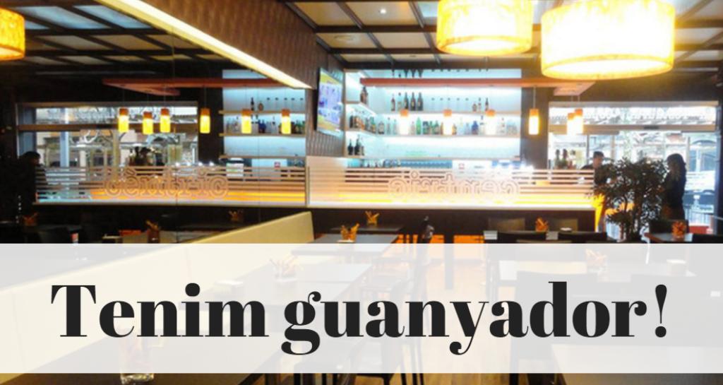 Jaume Sellarès gaudirà d'un sopar al Cèntric gastro-bar de Vilafranca