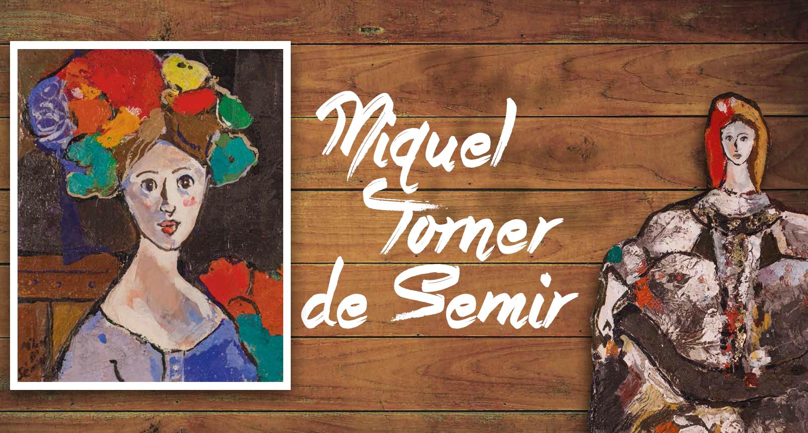 Miquel Torner de Semir exposa una retrospectiva de la seva obra al Fòrum Berger Balaguer