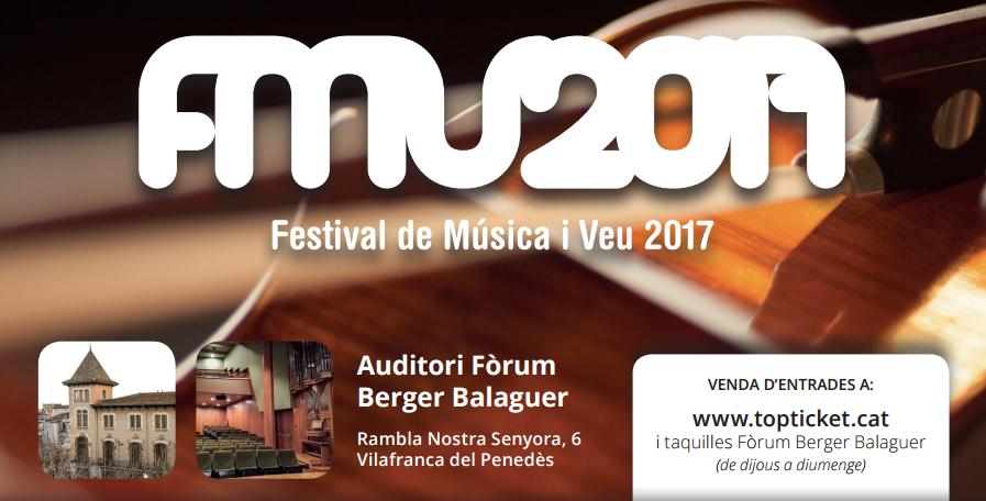 El públic del Festival de Música i Veu de Vilafranca creix un 20% durant la primera meitat de la programació