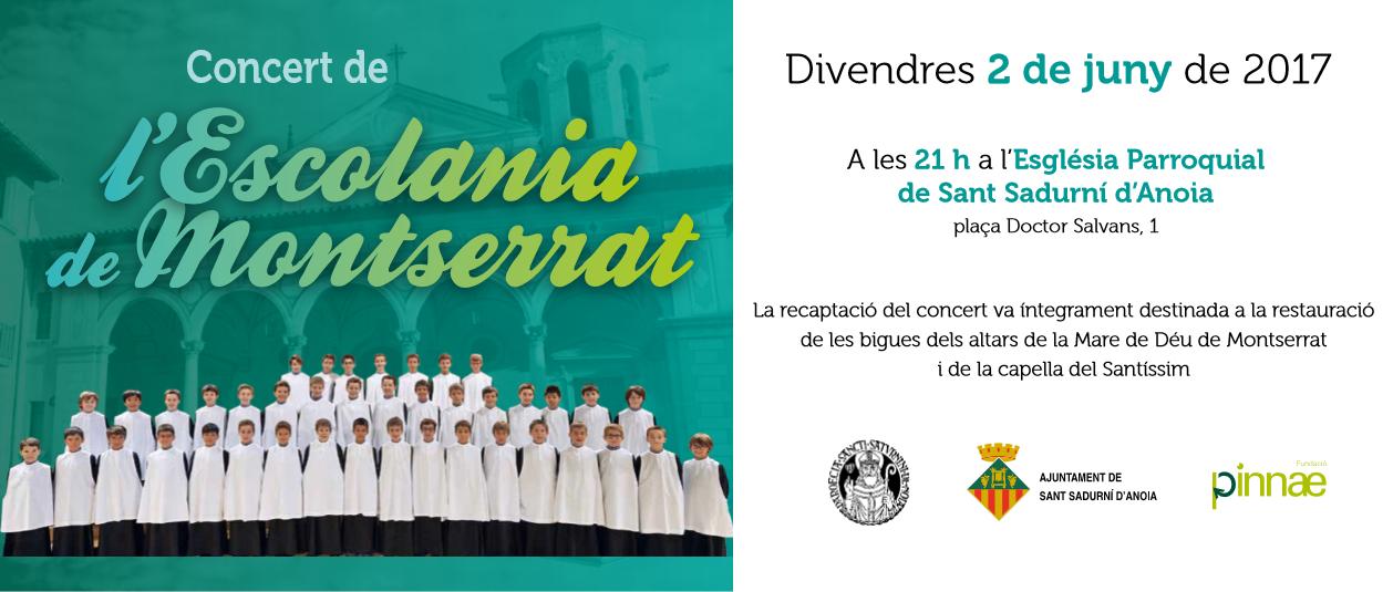 L'Escolania de Montserrat canta a Sant Sadurní d'Anoia