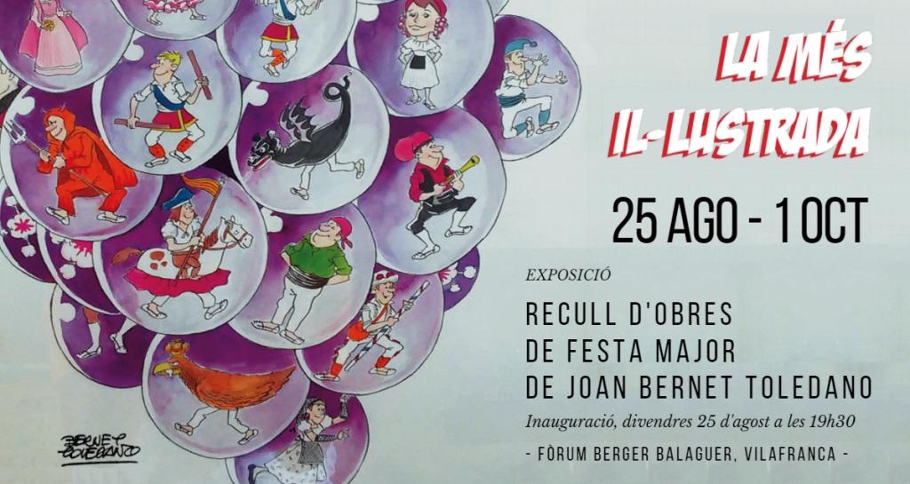 Bernet Toledano torna per la Festa Major al Fòrum Berger Balaguer