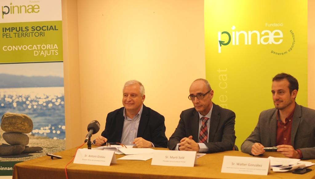 La Fundació Pinnae obre una nova convocatòria d'ajuts per a projectes d'impuls social a l'Alt Penedès, l'Anoia, el Baix Penedès i el Garraf