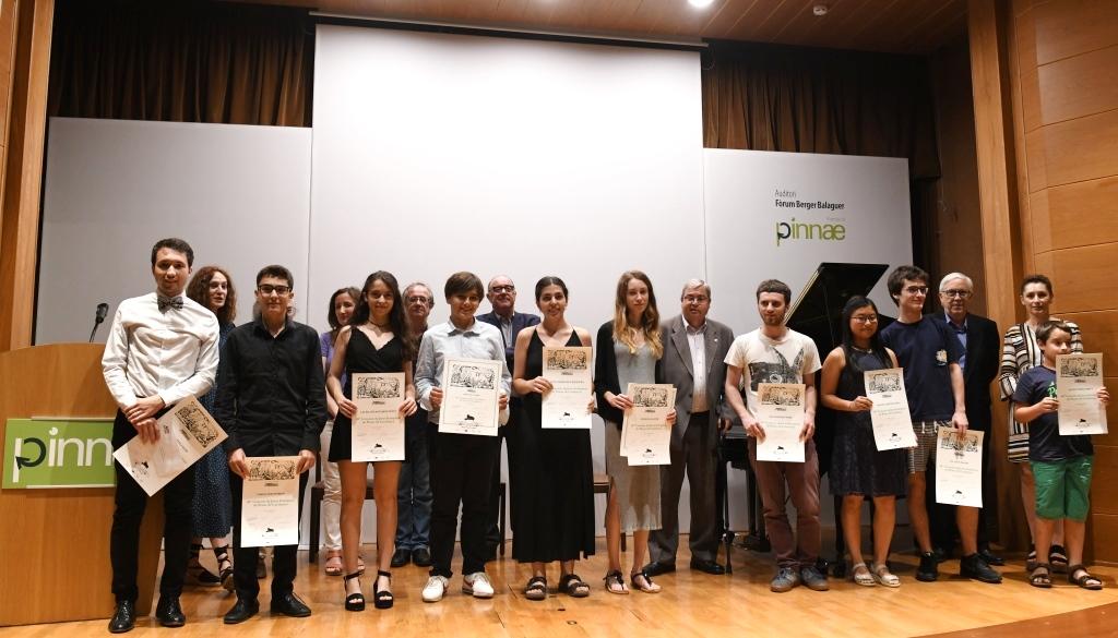 Cloenda del 48è Concurs de Piano de Catalunya