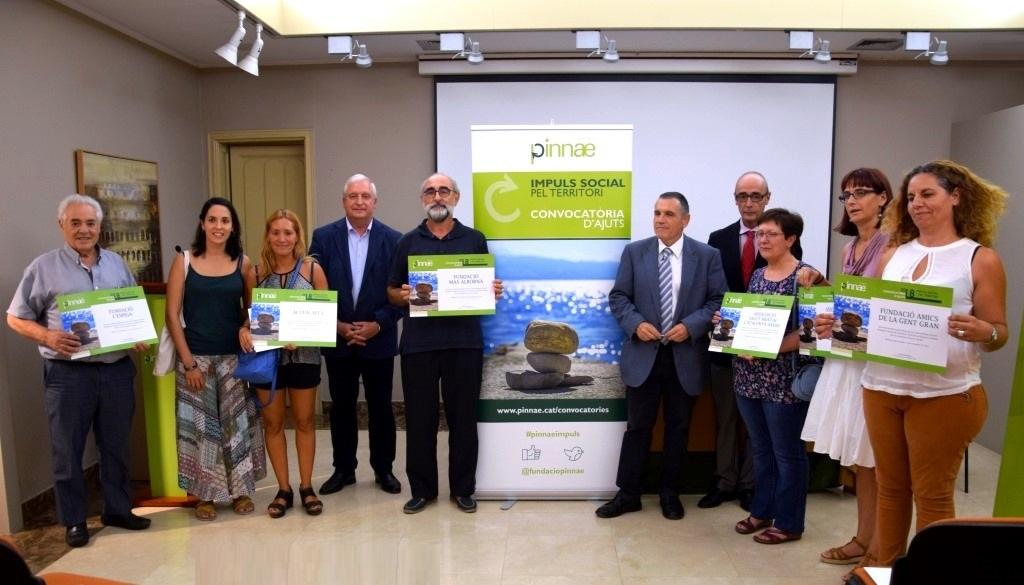 La Fundació Pinnae fa entrega de la línia d'Ajuts d'Impuls Social pel Territori