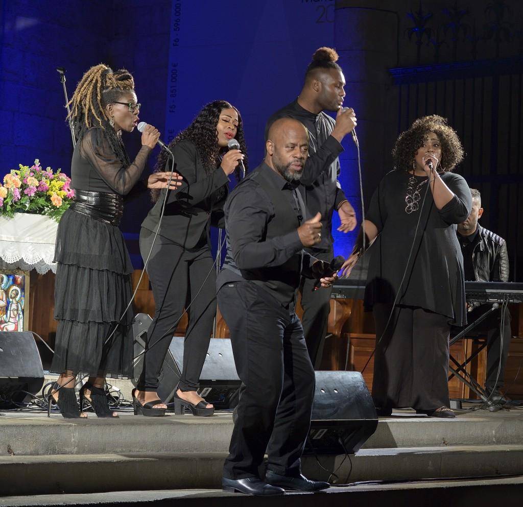 The London Community Gospel Choir (https://lcgc.org.uk/)