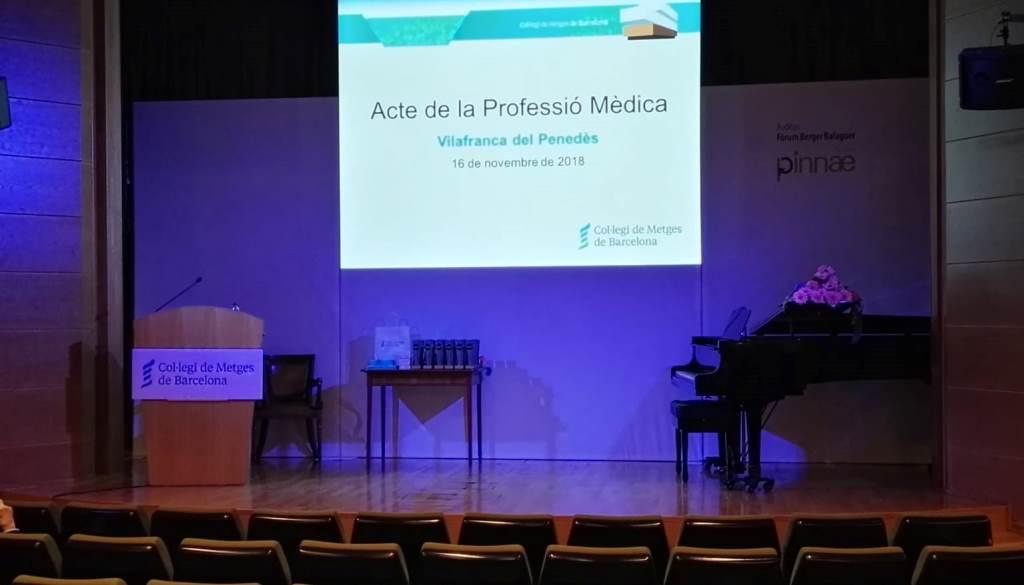 Metges i metgesses són reconeguts en l'Acte de la Professió Mèdica