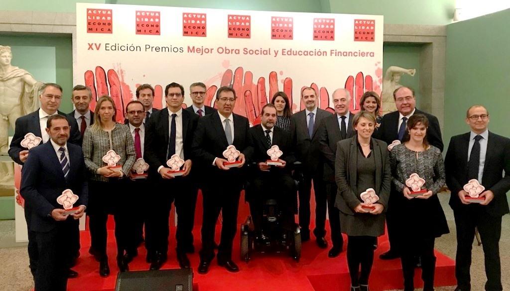 La Fundació Pinnae, reconeguda als XV Premis d'Obra Social de la revista 'Actualidad Económica'
