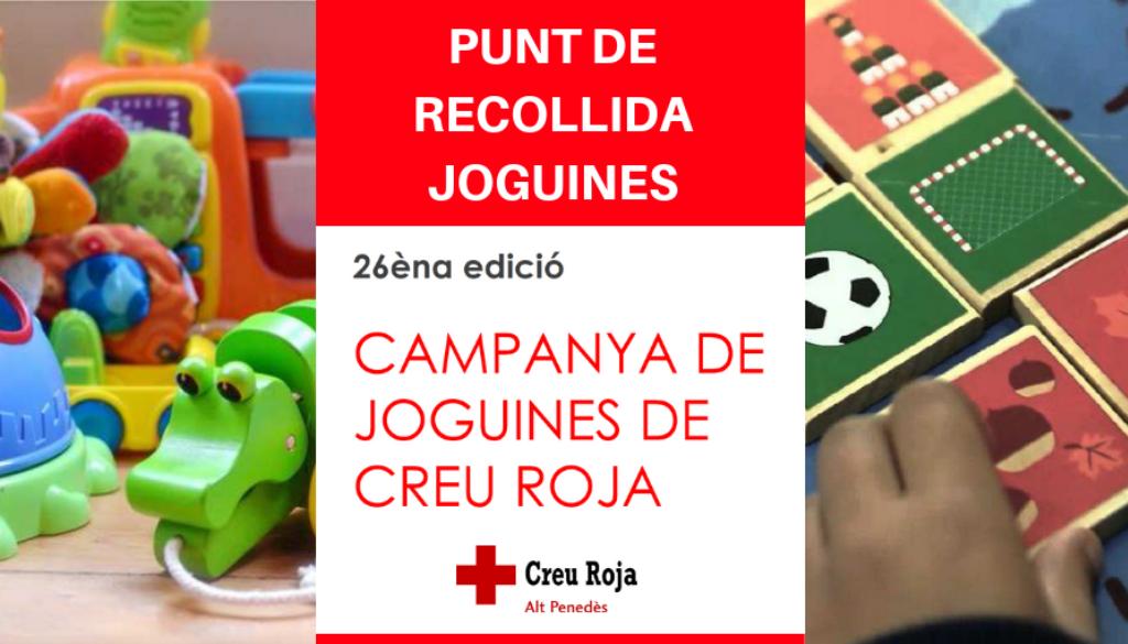El Fòrum Berger Balaguer és punt de recollida de joguines per la Creu Roja