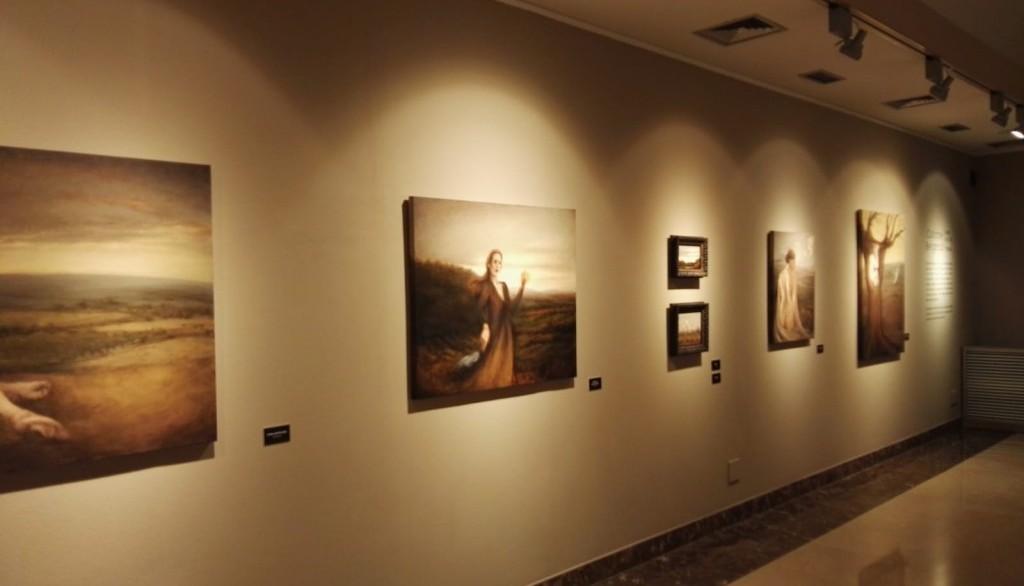 La subhasta d'una obra clourà l'exposició de Cathrine Bergsrud aquest cap de setmana