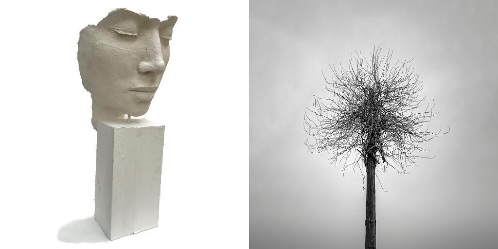 Fotografia i escultura dialoguen en la nova exposició de l'espai cultural Fòrum Berger Balaguer