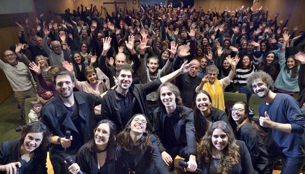 In Crescendo entusiasma al público del MUSiCVEU en un concierto muy especial lleno a rebosar