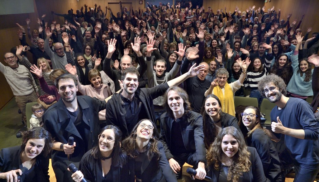 In Crescendo entusiasma al públic del MUSiCVEU en un concert molt especial ple de gom a gom