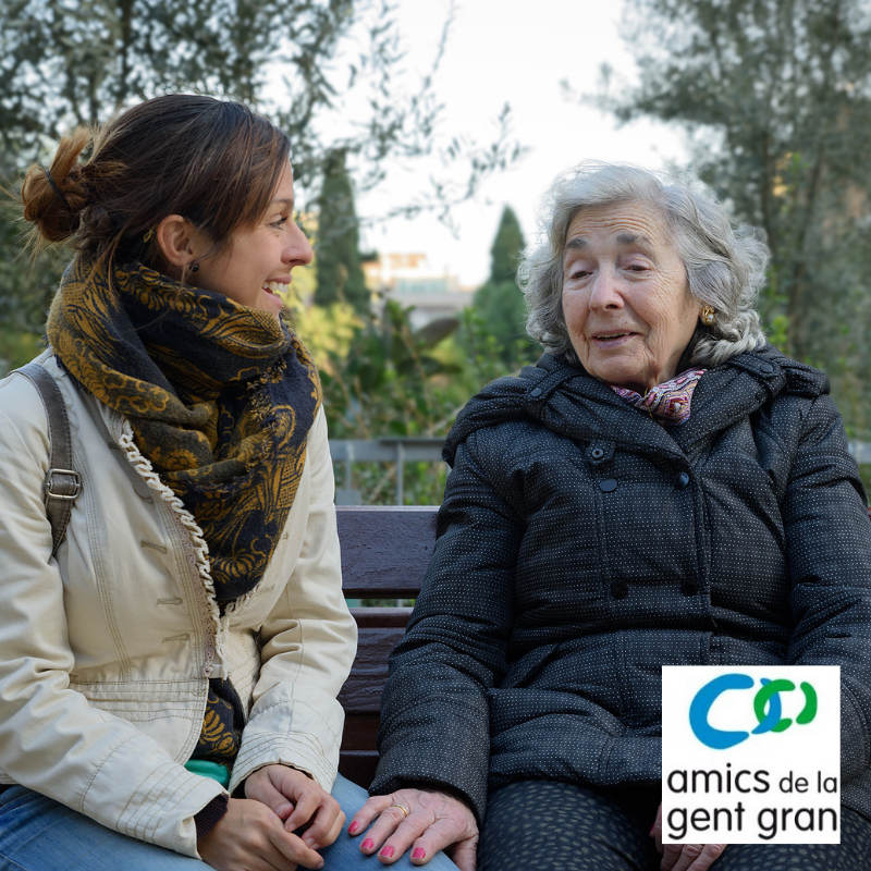 Acompanyament a persones grans. Projecte Fundació Amics de la Gent Gran