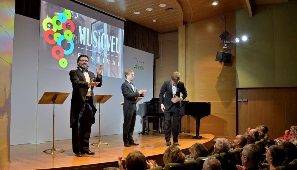 L'espectacle Tenors omple d'humor i rialles el Fòrum Berger Balaguer