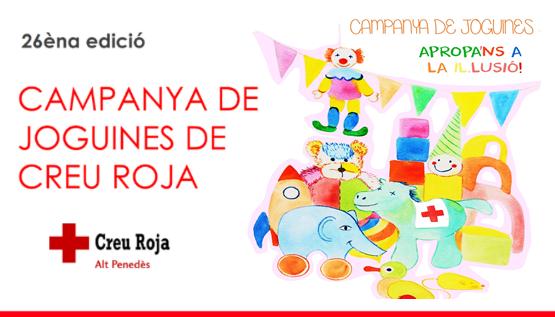 La Fundació Pinnae va col·laborar en el lliurament a 596 infants d'una joguina educativa i una de lúdica en la campanya de joguines de la Creu Roja