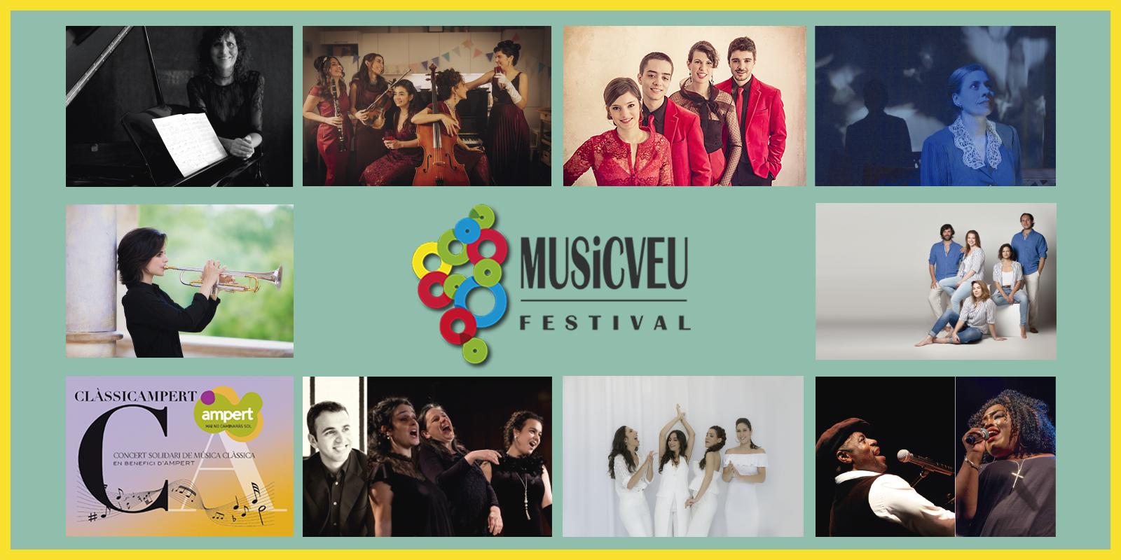 """La sisena edició del MUSiCVEU aixecarà el teló el 27 d'octubre amb el concert """"CLÀSSICAMPERT"""""""