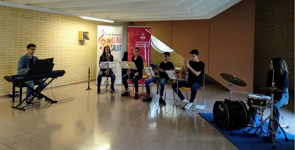 """La Fundació Pinnae apropa la música a l'Hospital Comarcal de l'Alt Penedès amb el """"Cicle en Clau de Salut"""""""