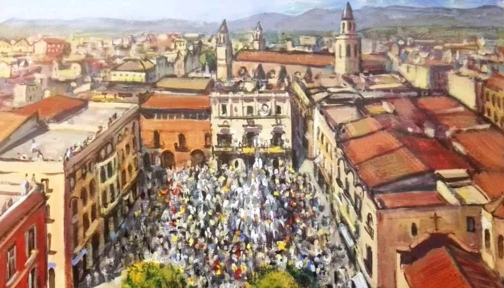 El viatge serà la temàtica conjunta de 9 artistes que exposen al Fòrum Berger Balaguer