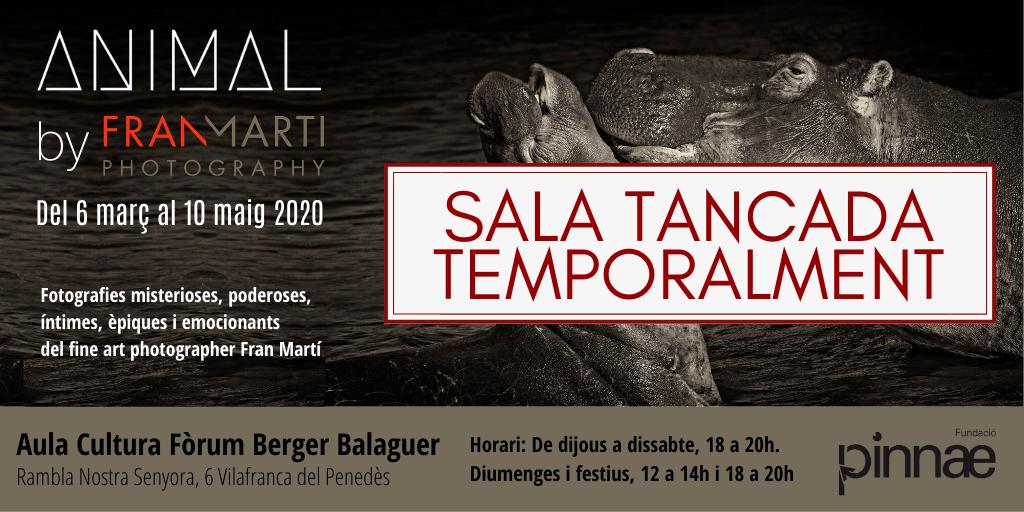 El Fòrum Berger Balaguer romandrà tancat i ajorna la seva activitat