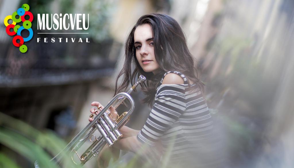 MUSiCVEU torna amb la música de l'Andrea Motis & Trio en un entorn màgic i segur