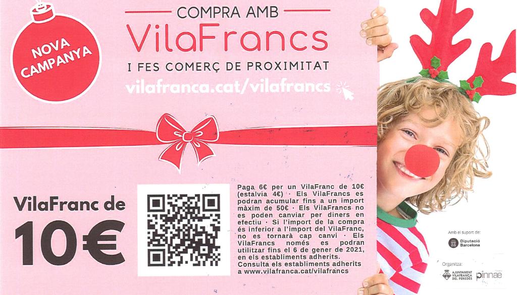 Nova Campanya de Vilafrancs per promocionar el comerç local