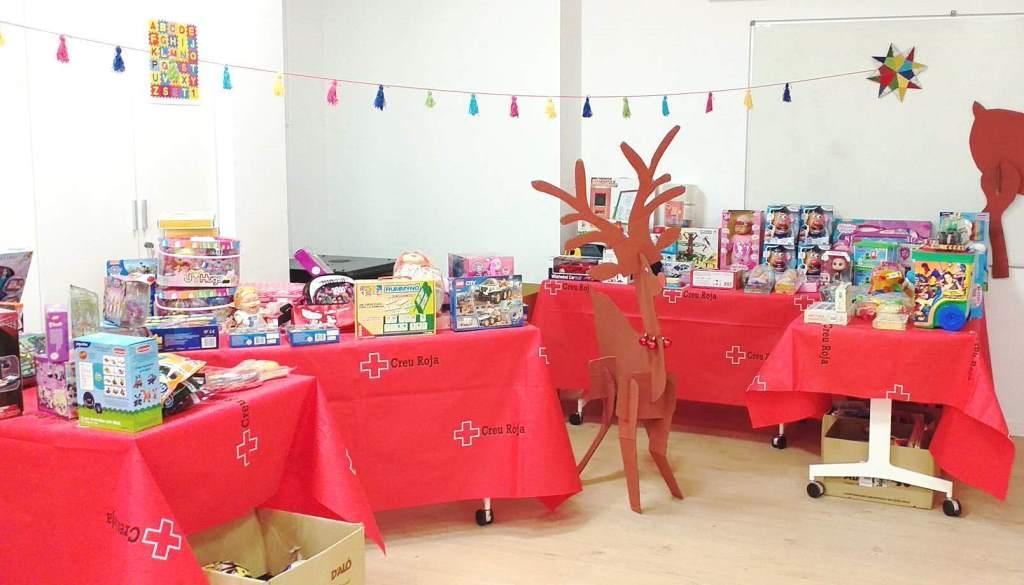 Donem suport a la Campanya de Joguines de la Creu Roja a l'Alt Penedès