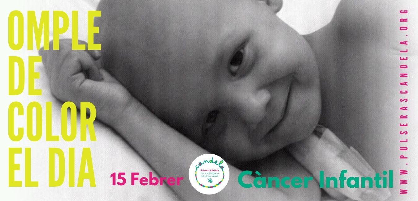 Pinnae i Polseres Candela es sumen al Dia Internacional del Càncer Infantil