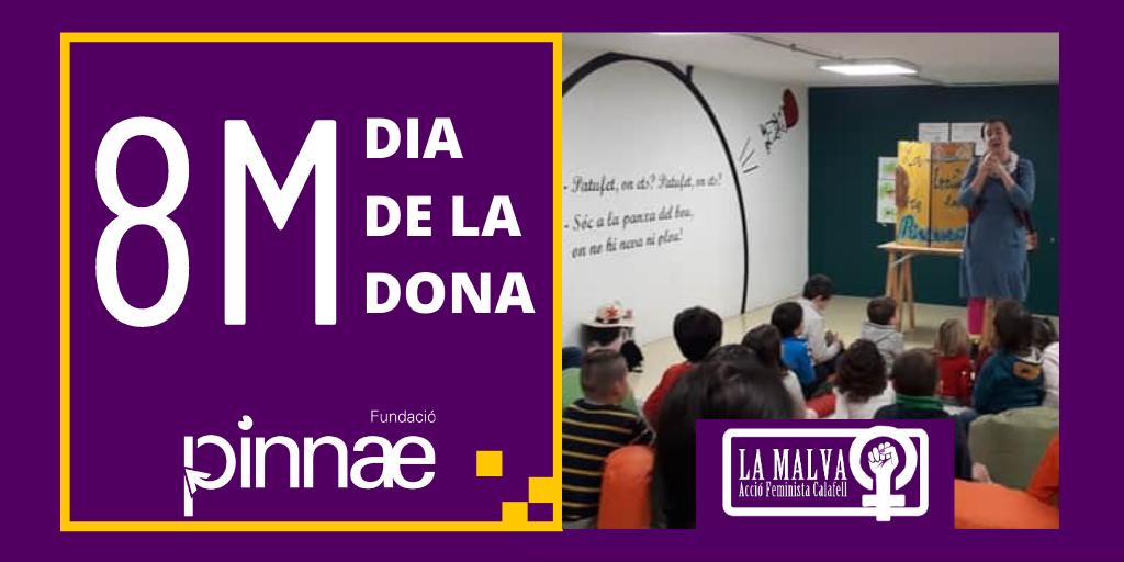 La Fundació Pinnae commemora el 8M mostrant el projecte integrador de La Malva Acció Feminista