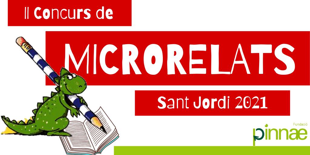 La Fundació Pinnae convoca el segon Concurs de Microrelats – Sant Jordi 2021