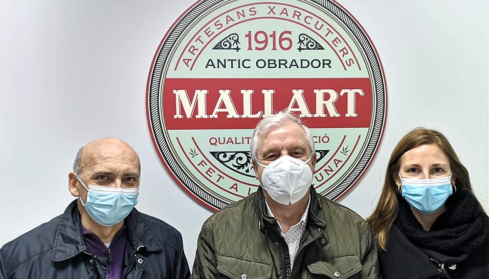 La Fundació Pinnae visita les instal·lacions de Mas Albornà i Mallart
