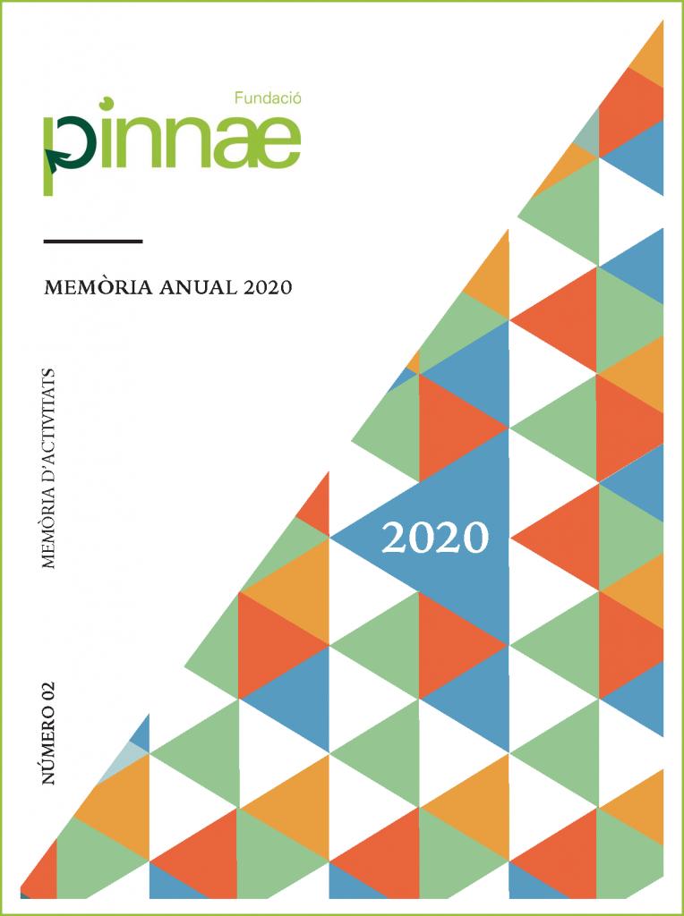 Portada memòria 2020 Fundació Pinnae