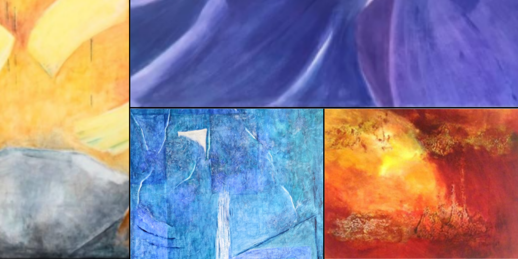 Mercè Soler i Montse Virgili exposen les seves pintures al Fòrum Berger Balaguer