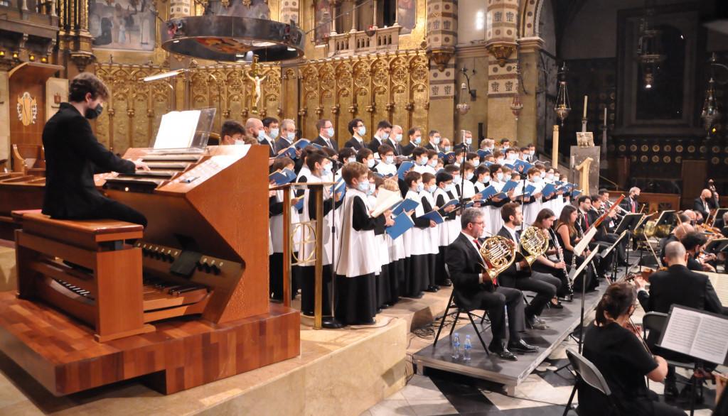 Tret de sortida al Festival Internacional d'Orgue de Montserrat que compta amb el suport de Pinnae