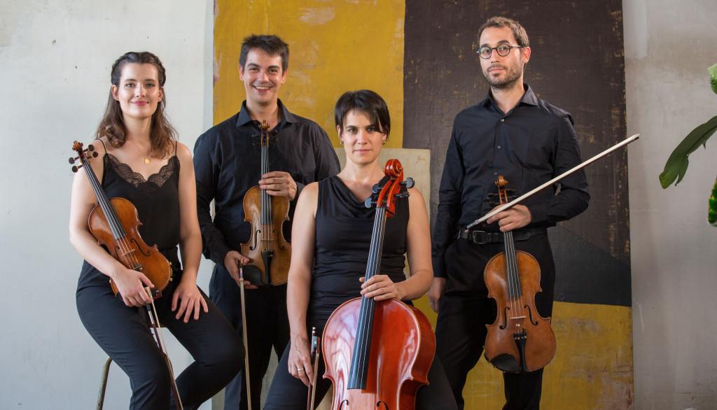 El Quartet Altimira en concert solidari al Festival MUSiCVEU