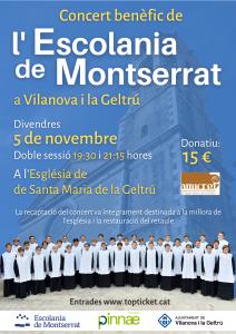 Concert benèfic de l'Escolannia de Montserrat